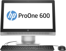 HP ProOne 600 G2 - Desktop-PC - Intel® Core™ i5-6500T (2.5 GHz) - Noir