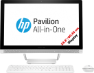 hp Pavilion 24-B240NZ - All-in-One - 128 GB SSD - Weiss