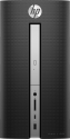 hp Pavilion 570-p070nz - Desktop-PC - Intel Core i7-7700 (3.6 GHz) - Nero