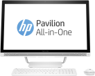 hp Pavilion 27-a224nz - All-in-One - Intel Core i5-7400T (2.4 GHz) - Weiss