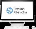 hp Pavilion 27-a224nz - Tout-en-un - Intel Core i5-7400T (2.4 GHz) - Blanc