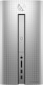 hp Pavilion 570-p074nz - Desktop-PC - Intel® Core™ i5-7400 Processore (fino a 3.5 GHz, 6 MB Intel® Cache) - Argento
