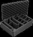 PELI Einteilungs-Set - Für 1550 - Schwarz