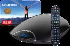 ASTON MAYA HD2/SSR - SAT récepteur HD - HbbTV - Noir
