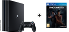 Sony PS4 Pro - Console - 1 To HDD - Noir + Uncharted: The Lost Legacy (y compris Pre-Order Bonus), PS4, multilingue