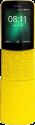 "Nokia 8110 4G - Mobiltelefon - 2.45"" QVGA Display gebogen - Dual SIM - Gelb"
