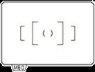 Ricoh Pentax MF60 - Wechsel-Mattscheibe - Transparent
