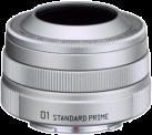 Pentax 01 Standard Prime - Objektiv - Silber