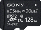 SONY SR-G1UZ - Carte mémoire flash - avec adaptateur SD - 128 Go - Noir