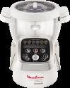 Moulinex HF800A Cuisine Companion - Multifunktionale Küchenmaschine - Schneiden, Mixen, Kochen - Weiss