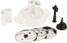 Moulinex Schnitzelwerkaufsatz Cuisine Companion - Edelstahl