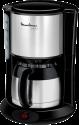 Moulinex FT3608 Thermo Kaffeemaschine Subito - Kapazität 0.9 L - Edelstahl/Schwarz