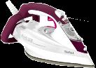 Tefal FV5549 Aquaspeed Protecstyle - Dampfbügeleisen - 2600 W - Weiss/Dunkelrot