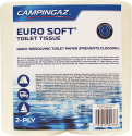 CAMPINGAZ Euro Soft® - Carta igienica - 4 rotoli - Bianco