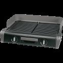 Tefal BBQ Family Kitchen TG8000 - Tischgrill - Grillfläche 28.5x46 cm (1.500 cm²) - Schwarz/Silber