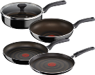 Tefal Ingenio So Intensive - 24 et 28 cm Pfannenset - Noir