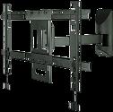 ERARD 2532 - TV-Wandhalterung - Kipp- und drehbare Wandhalterung für Flachbildschirme von 40 bis 75 (102 bis 190 cm) - Schwarz