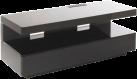 ERARD 35413 Ice Box - Meuble TV - Max. 30 kg - Noir