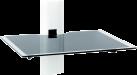 ERARD 35490 SHELF - Tablett für Peripheriegeräte - Max. 10 kg - Weiss