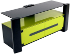 ERARD 36241 ARCHI - Meuble TV - Max. 30 kg - Vert/Noir