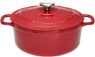 Chasseur 84147223 - Runder Bräter - 3 L - Rot