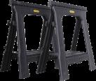 STANLEY STST1-70713 - Jack stand - Resilienti 450 kg - Nero