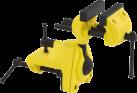STANLEY MAXSTEEL - Multiachsen Schraubstock - 25 kg Spannkraft - Gelb