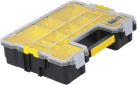 STANLEY FATMAX 1-97-521 - Boîte de rangement - Pour les petites pièces et accessoires - Noir/Jaune
