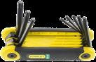 STANLEY Set chiavi maschio esagonale Torx - 8 pezzi