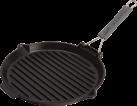 staub Grill, 27 cm, schwarz