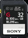 SONY SF-G UHS-II - 32 GB - Schwarz