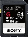 SONY SF-G UHS-II - 64 GB - Nero