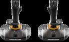 THRUSTMASTER T.16000M FCS Space Sim Duo - Kombination aus zwei Thrustmaster T.16000M FCS-Joysticks - Für PC - Schwarz/Orange