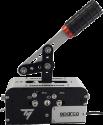 THRUSTMASTER TSSH Add-On Handbrake & Shifter Sparco - Handbremse für PC - Silber/Schwarz