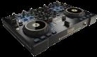 Hercules DJConsole RMX 2 Black-Gold - DJ-Kontroller - Druckerfassende Jogwheels - Schwarz / Gold