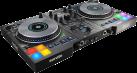 Hercules DJ Control Jogvision - DJ-Controller - Visuelle Darstellung auf den Jogwheels - Schwarz