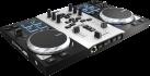 Hercules DJControl Air S Series - DJ Kontroller - 8 progressive Pads - Schwarz