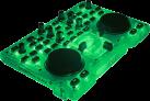 Hercules DJControl Glow - DJ-Controller - USB-Stromversorgung - Grün