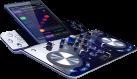 Hercules Dj Control Wave M3 - kabellose DJ Controller - Bluetooth® Funktechnologie - Schwarz