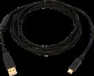 bigben Controller-Ladekabel - für PlayStation 3 - Schwarz