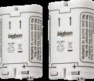 bigben Dual Battery Kit - Ni-Mh wiederaufladbare Akkus für Wii und U/Wii - 2 Stk - Weiss