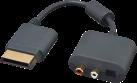 bigben Audio-Headset-Adapter - für Xbox360 - Schwarz