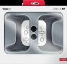 bigben Grip-Set 2-pack - Griffen und Stick-Kappen für Nintendo Switch - Schwarz