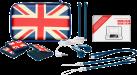 bigben Game Traveler Essential Pack UK XL - Zubehör-Pack für New Nintendo 2DS XL/3DS XL - Blau/Rot/Weiss