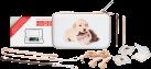 bigben Game Traveler Pack Baby Animals XL - Zubehör-Pack für New Nintendo 2DS XL/3DS XL - Braun/Beige/Weiss