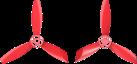 Parrot Hélices, pour Bebop 2, rouge