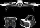 Parrot Bebop 2 + FPV - Drohne + Cockpitglasses - Weiss/Schwarz