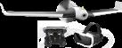 Parrot DISCO FPV - Drohne - Full HD - schwarz/weiss