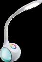 Delta TES 159 - LED-Lampe - mit Bluetooth-Lautsprecher - Weiss