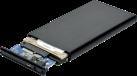 PORT DESIGNS HDD Enclosure SATA 2.5 - Recinzione esterna - Per 2.5 SATA HDD - Nero